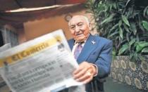 """""""Tengo 104 años y leo El Comercio sin lentes"""" - Noticias de fernando beltran"""
