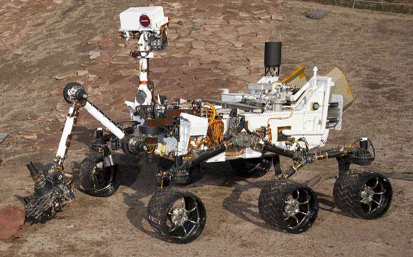 Curiosity está paralizado en Marte por el cierre parcial del gobierno de EE.UU.