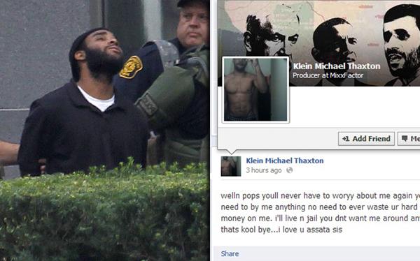 EE.UU.: secuestró a un hombre y posteaba sobre el tema en Facebook