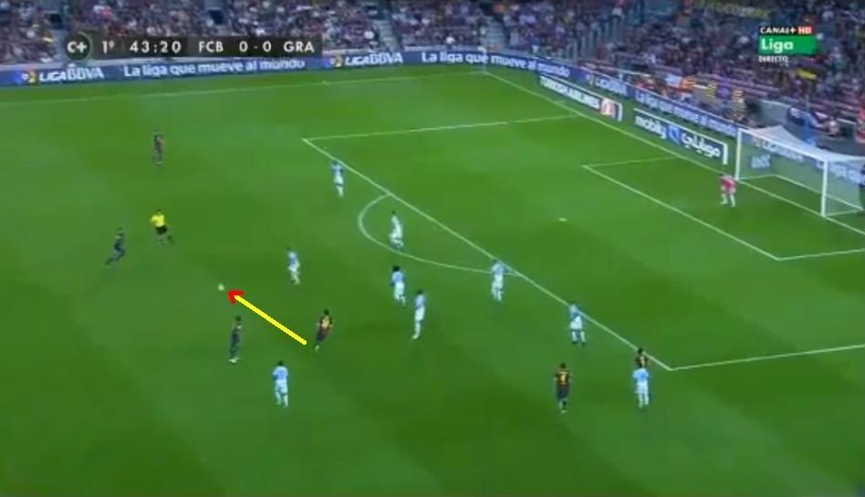 FOTOS: Lionel Messi y David Villa discutieron por esta jugada explicada aquí paso a paso