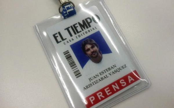 """Juanes fue director por un día del diario """"El Tiempo"""""""
