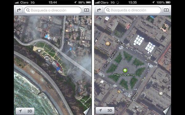 Los mapas del iPhone: lo bueno, lo malo y lo feo de este nuevo servicio