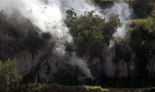 Cusco: incendio forestal afectó cultivos de 200 agricultores