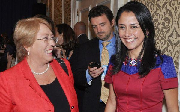 Nadine Heredia destacó políticas inclusivas del Gobierno en cita de líderes en Nueva York