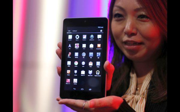 Google lanzó Nexus 7 en Japón para competir con el iPad