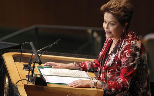 Dilma Rousseff defendió derecho de países emergentes a blindar sus economías