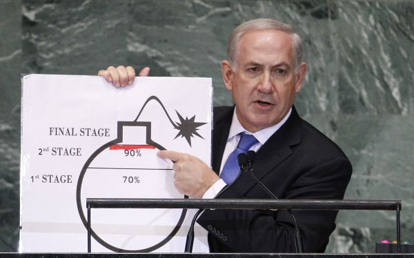 "Netanyahu advierte a ONU sobre peligro de Irán: ""Está haciéndose tarde, muy tarde"""