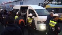 Paro de transportistas es parcial en distintos puntos de Lima - Noticias de asetum