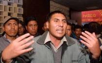 Huancayo: ex dirigente del Sutep fue detenido en medio de enfrentamiento - Noticias de penal de huamancaca