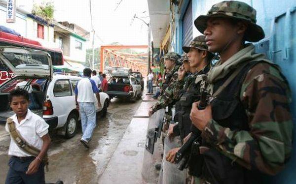La Convención: padres y autoridades piden que militares se vayan de colegios