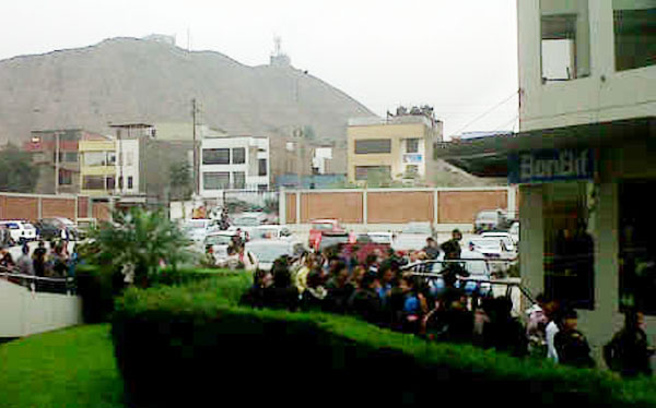 Asaltan banco en la facultad de la Universidad de San Martín en La Molina