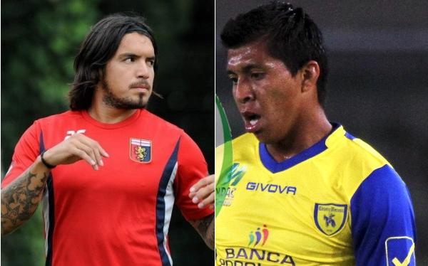 Vargas y Cruzado no jugaron en la jornada de hoy por la Serie A de Italia