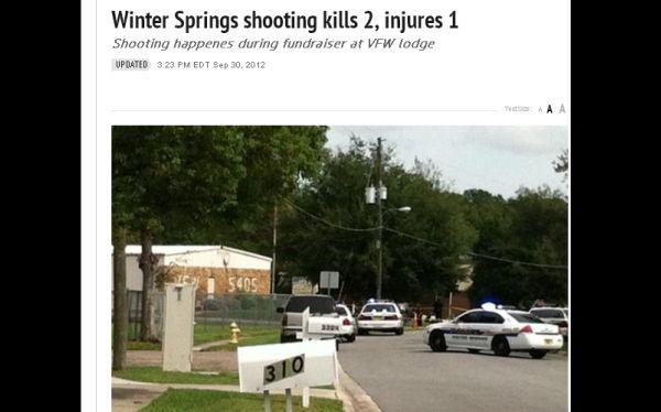 Estados Unidos: dos muertos tras tiroteo en centro de veteranos de guerra