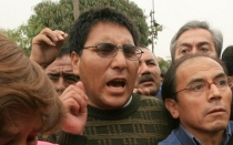 Ex dirigente del Sutep Robert Huaynalaya fue liberado en Huancayo - Noticias de penal de huamancaca
