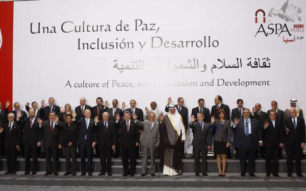 Jefes de Estado y de Gobierno en la III Cumbre ASPA firmarán hoy la Declaración de Lima