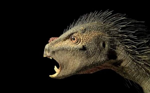 La nueva especie de dinosaurio herbívoro con colmillos de vampiro