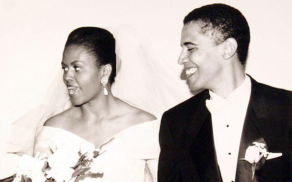 Obama saludó a su esposa Michelle por su vigésimo aniversario
