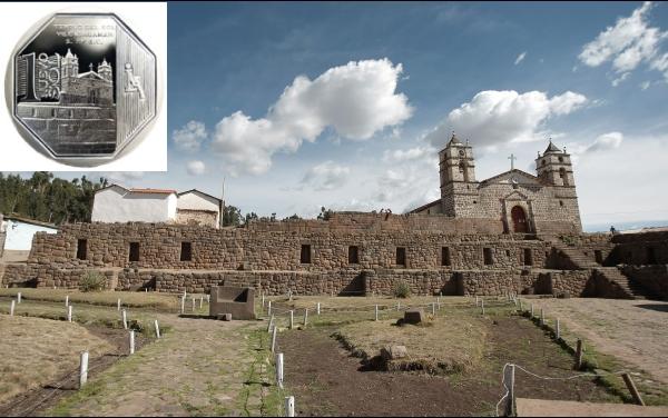 El complejo arqueológico de Vilcashuamán es la inspiración de la nueva moneda de S/.1