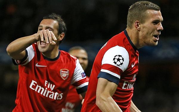 Champions League: Arsenal venció 3-1 al Olympiacos y lidera el Grupo B