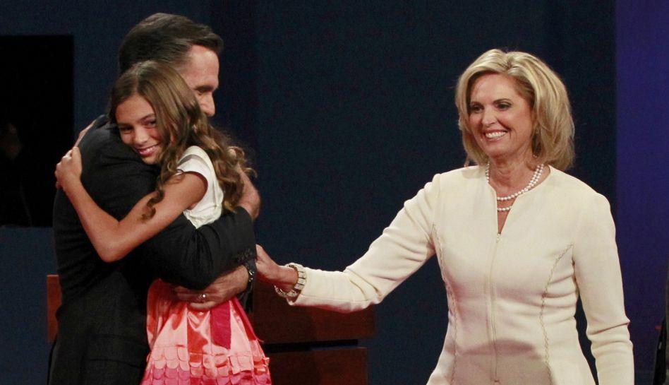 FOTOS: las imágenes que dejó el debate presidencial entre Barack Obama y Mitt Romney