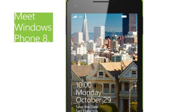 Microsoft lanzará el Windows Phone 8 este 29 de octubre