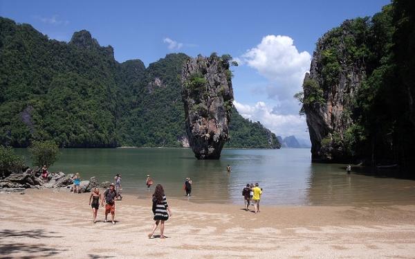 James Bond hizo famosa esta isla de Tailandia