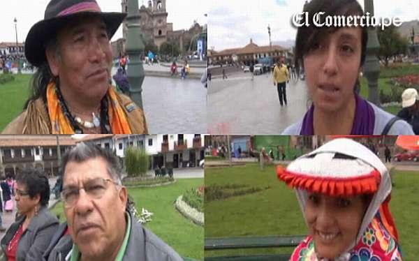 VIDEOENCUESTA: Perú le ganará a Bolivia en La Paz, dicen hinchas cusqueños