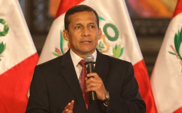 Ollanta Humala se reunió con Secretario de Defensa de EE.UU. en Palacio de Gobierno