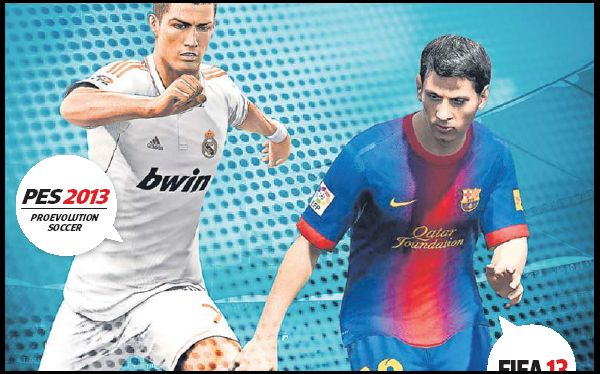 PES 2013 y FIFA 13 luchan por ser el simulador de fútbol más realista
