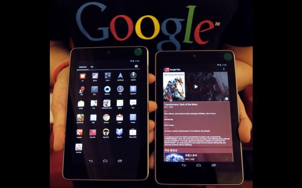 Nexus 7 se posiciona como una tableta pequeña de gran rendimiento