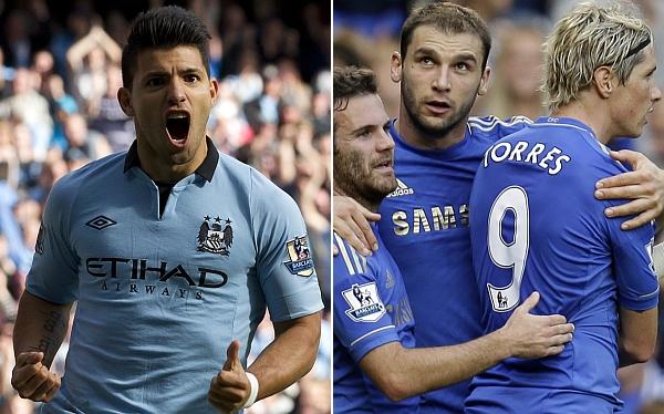 Liga Premier: Chelsea y Manchester City ganan y están en lo alto de la tabla