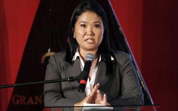 "Keiko Fujimori pidió a Humala ""un cambio urgente de rumbo"" en lucha antiterrorista"