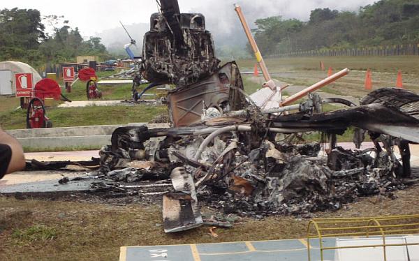 Terroristas ponen en jaque transporte del gas de Camisea