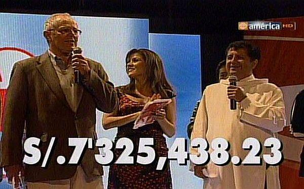 Gracias, Perú: Teletón 2012 superó los S/.7 millones