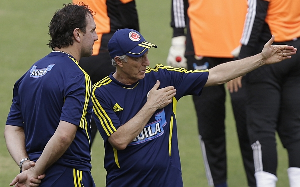 Colombia prepara solo con 11 jugadores duelo ante Paraguay por Eliminatorias