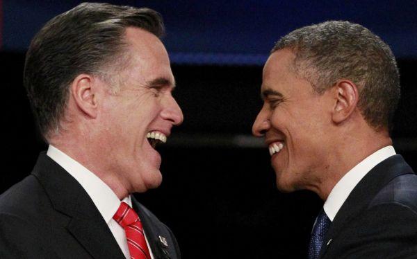 Obama mantiene ventaja de 2% sobre Romney previo a debate de esta noche