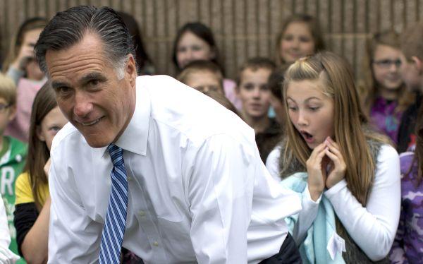 Nada con los niños: Mitt Romney desaira a la cadena Nickelodeon