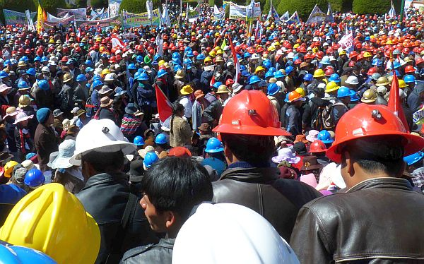 Trabajadores de minera Shougang Perú iniciarán huelga el jueves 15