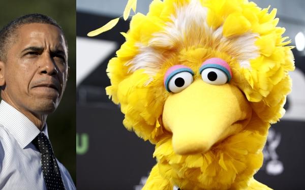 """Plaza Sésamo pide a Obama que deje de usar a """"Big Bird"""" en su campaña"""