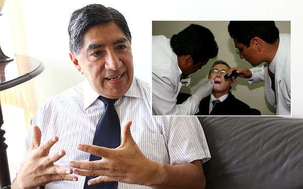 """Ex fiscal Guillén: """"Informe médico no debe dejar dudas sobre salud de Fujimori"""""""