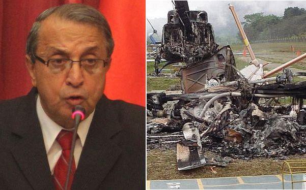 """""""No es posible que una empresa que sufre atentados pida retiro de fuerzas del orden"""", opinó Mora"""