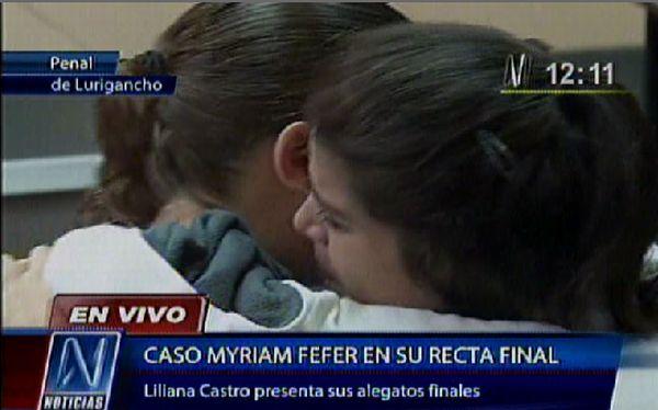 Caso Fefer: Liliana Castro lloró en audiencia y calificó como injustos los tres años que pasó en prisión