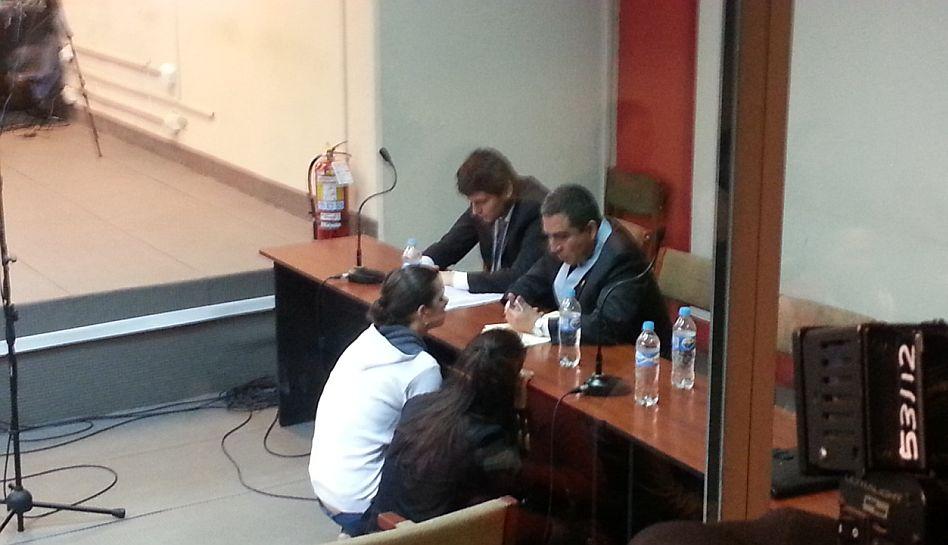 FOTOS: Eva Bracamonte y Liliana Castro en tensa espera de lectura de sentencia por caso Fefer