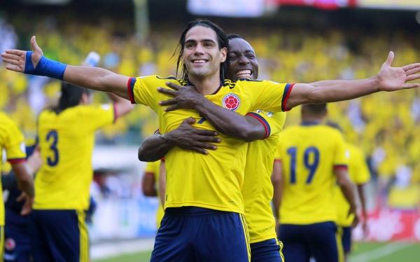 Colombia hundió 2-0 a Paraguay con doblete de Radamel Falcao