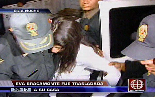Eva Bracamonte fue dada de alta tras desmayarse en la lectura de su sentencia
