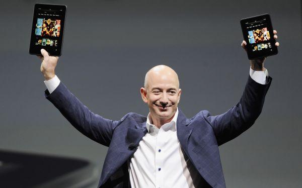 """Director de Amazon: """"No tratamos de hacer dinero con el Kindle Fire HD"""""""