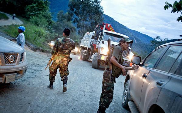 Cusco: tres presuntos terroristas fueron capturados en Pichari