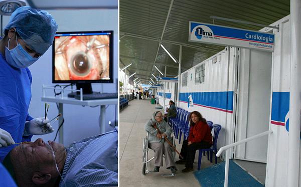 Pacientes con cataratas serán operados gratuitamente en Hospital de la Solidaridad