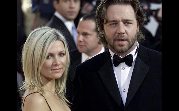 Russell Crowe se separó de su esposa Danielle Spencer después de 9 años