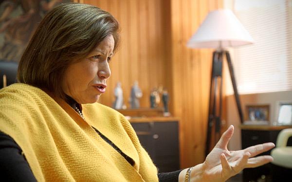 """Lourdes Flores sobre ley de revocación: """"Si la quieren mantener hay que darle un cauce político"""""""